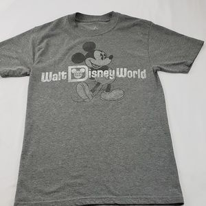 Walt Disney World Mickey Mouse Grey T-Shirt